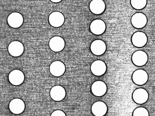薄金属激光打孔3