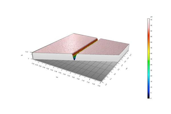 陶瓷激光划痕丨激光分板案例