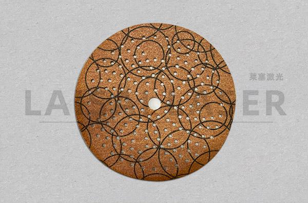 砂纸激光打网孔工艺